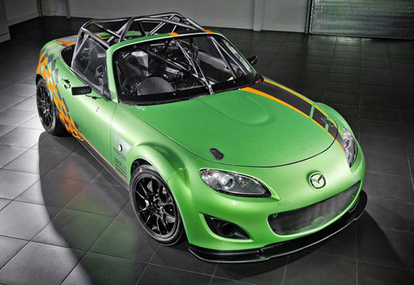 Mazda MX-5 GT Race Car - Le Blog Auto.ca