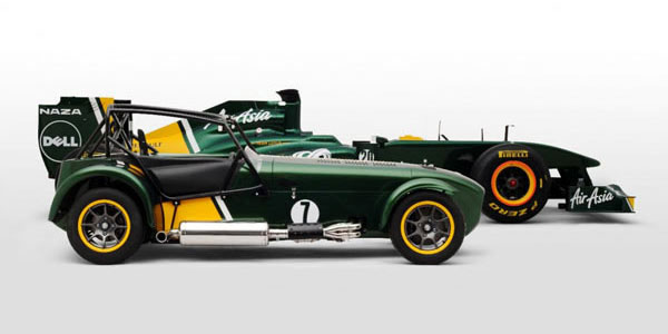 Team Lotus Caterham - Le Blog Auto.ca