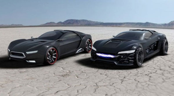 Ford Mad Max Concepts