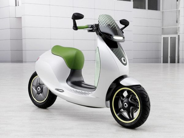 Le Scooter électrique par Smart