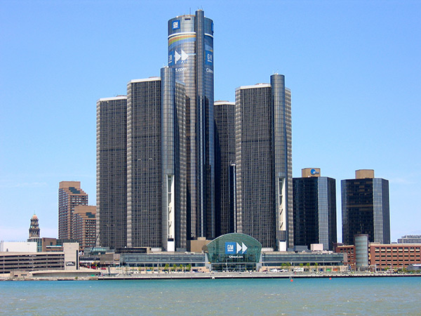 Siège social de General Motors à Detroit