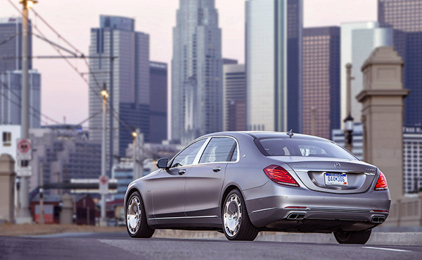 Mercedes-Maybach S600 2016 - Arrière