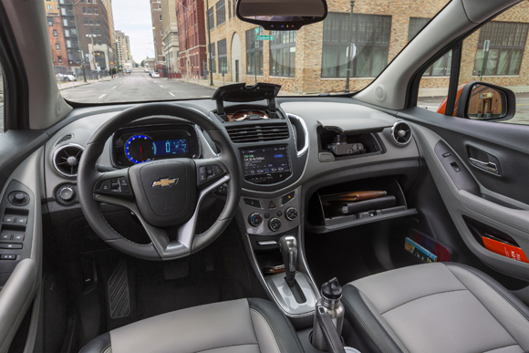 Chevrolet Trax 2015, dashboard