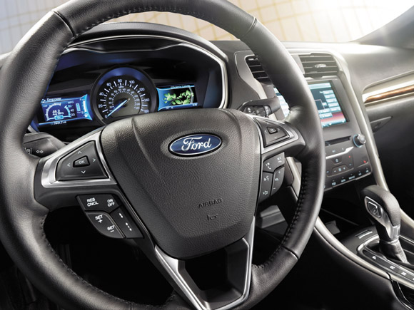 2015 Ford Fusion Hybrid Dashboard