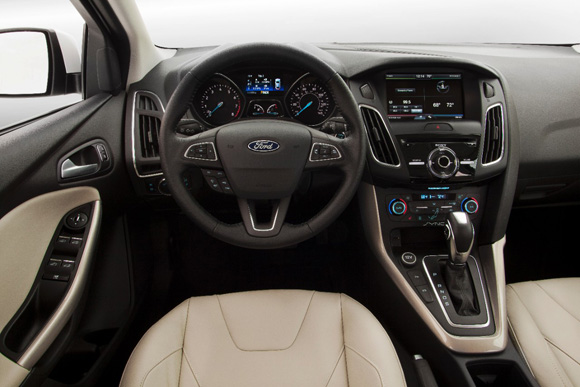 2015 FORD FOCUS DASH