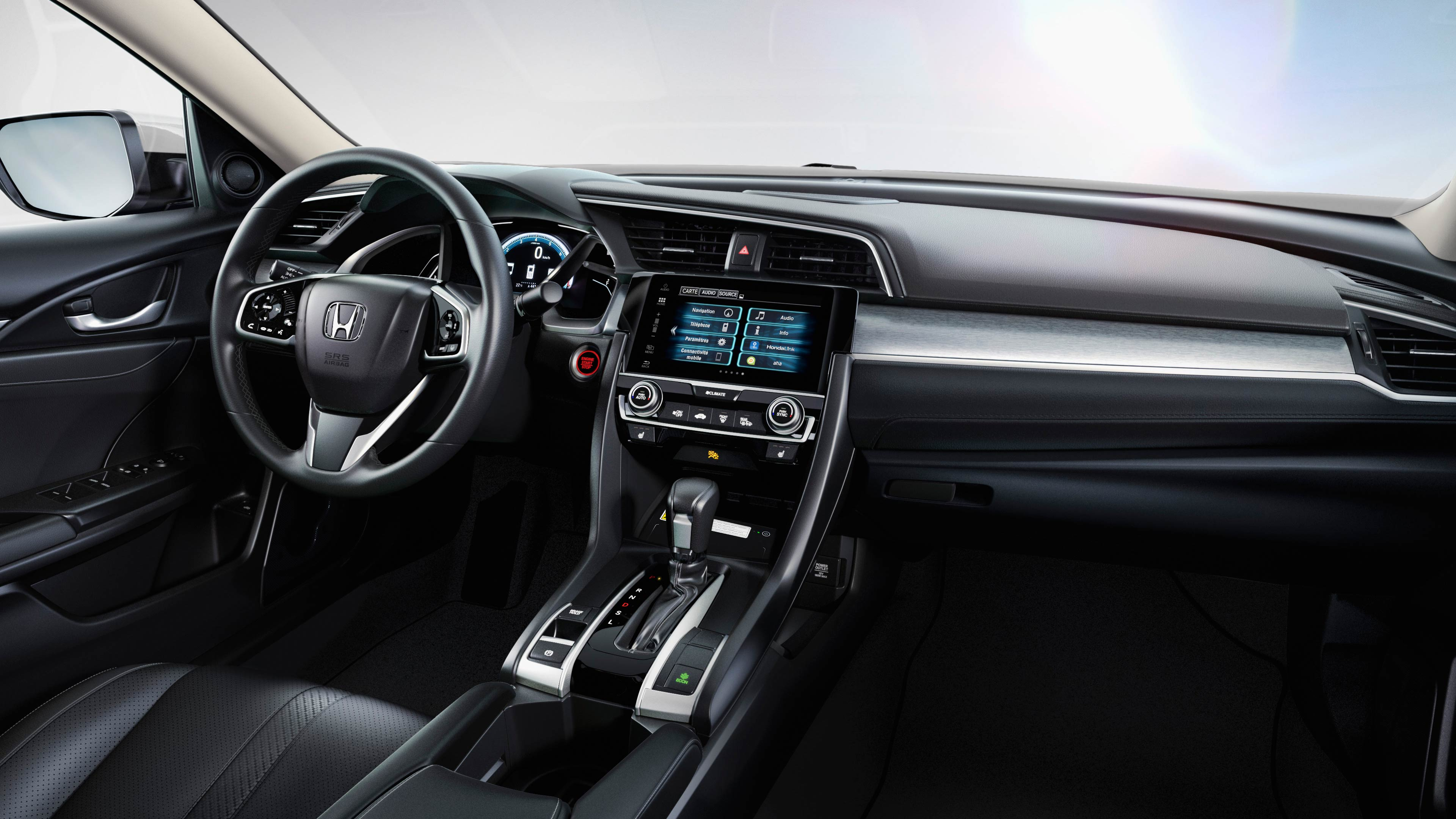 2016 HONDA CIVIC DASH