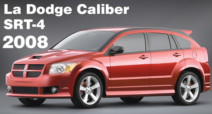 dodge caliber srt 4 2008 actualit automobile tout. Black Bedroom Furniture Sets. Home Design Ideas