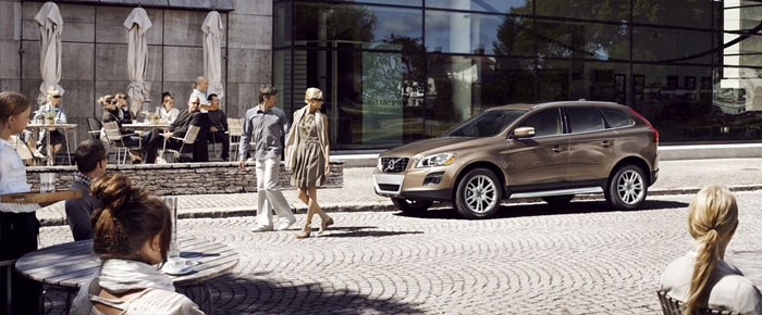 Le système City Safety de Volvo - Volvo XC60 2011