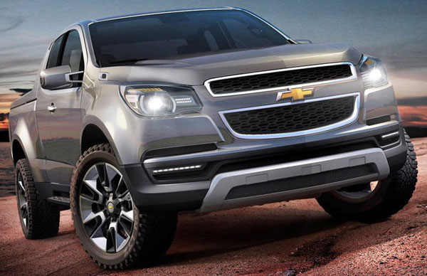 Le concept Chevrolet Colorado